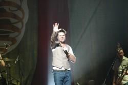 Audio Adrenaline In Concert - Mark Stuart Waves Goodbye