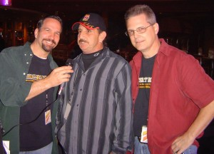 Rich Franko (Big 7 Records) with Tom and Brian