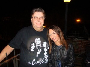James Downing with Susanna Hoffs