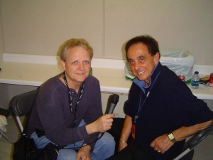 Mike Arnold with George Klein