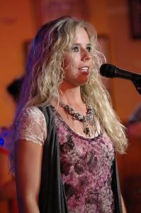 Susan Hickman Performs at Cadillac Ranch