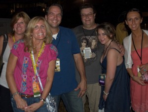 Tom and James With CMA Fest Fans