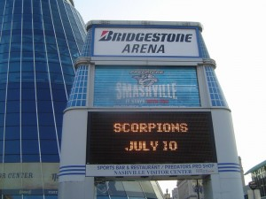Scorpions - Bridgestone Arena - Nashville, TN