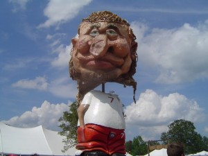 Bonnaroo 2010 - Some of the Art Work