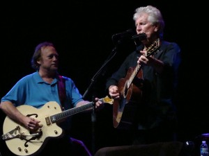Stephen Stills and Graham Nash