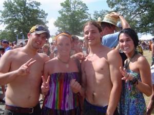 Bonnaroo 2010 - Fans from Indiana and Utah