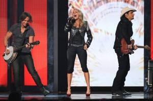 CMA Awards - Keith Urban, Carrie Underwood, and Brad Paisley