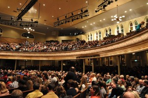 Styx In Concert - Ryman Auditorium Crowd