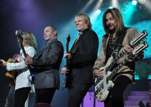 Styx In Concert -Tommy Shaw, Chuck Panozzo, JY, and Ricky Phillips