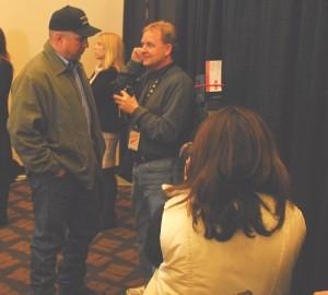 Mike Arnold Interviewing Garth Brooks