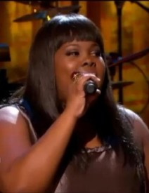 PBS Motown Special - Amber Riley