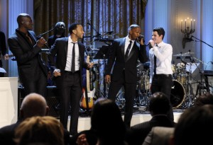 PBS Motown Special - Seal, John Legend, Jamie Foxx, and Nick Jonas