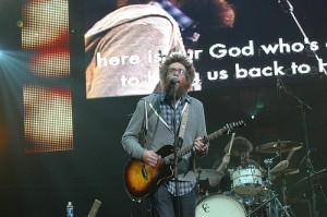 David Crowder Band  - Winter Jam 2011 Nashville, TN