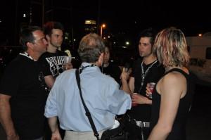 Concert Blast Interviews Like-A-Storm - Nashville, TN 5-11-11