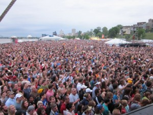 Beale Street Music Festival Crowd