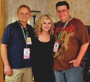 Stella Parton with Mike Arnold and James Downing