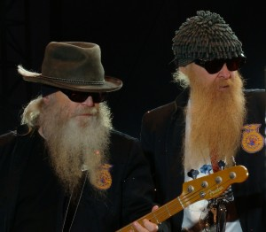 ZZ Top In Concert - Nashville, TN - Dusty Hill and Billy Gibbons