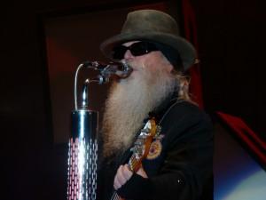ZZ Top In Concert - Nashville, TN - Dusty Hill