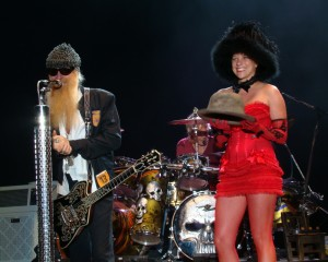 ZZ Top In Concert - Nashville, TN - Billy Gibbons receiving his Blues Hat