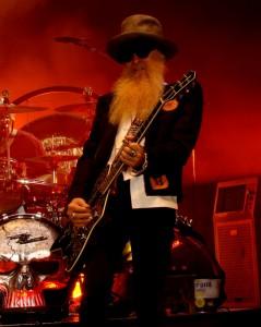 ZZ Top In Concert - Nashville, TN - Billy Gibbons