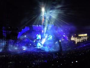U2 Stage - Nashville, Tn - Vanderbilt Stadium - 7/2/2011 - The Video Screen