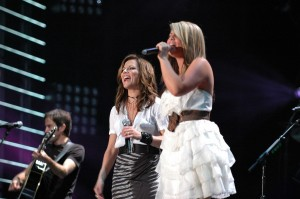 Martina McBride and Lauren Alaina - CMA Music Fest 2011