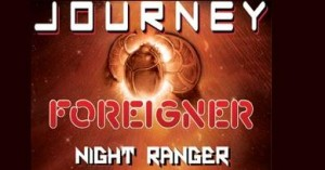 Journey - Forigner - Night Ranger Concert Tour Logo