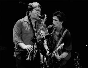 Bobby Keys and Keith Richards