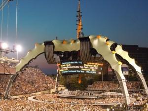 U2 Stage - Vanderbilt Stadium - Nashville, TN