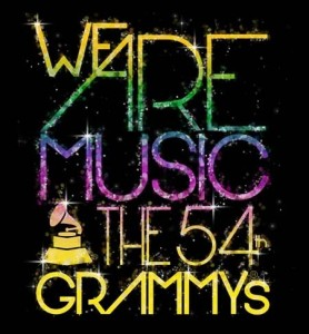54th Grammys Logo