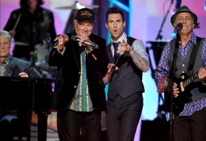 Beach Boys with Adam Levine Perfoming on the Grammys
