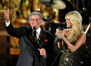 Tony Bennett and Carrie Underwood Performing on the Grammys