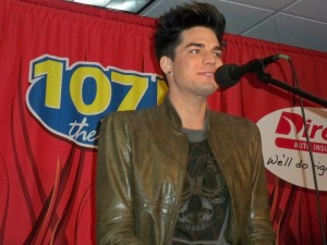 Adam Lambert - The River 107.5 - Nashville, TN