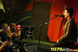 Adam Lambert Answers Questions From Fans - 107.5 The River - Nashville, TN