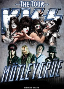 Kiss - Motley Crue 2012 Tour