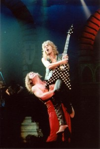 Ozzy Osbourne and Randy Rhoads In Concert