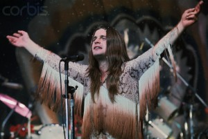 Ozzy Osbourne Sings at Black Sabbath Concert