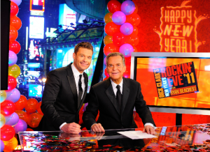 Ryan Seacrest and Dick Clark - New Year's Rockin' Eve