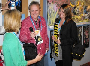 Mike Arnold Interviews Yellow Rick Road Producers Sylvia Caminer (left) and Melanie Lentz-Janey (right)