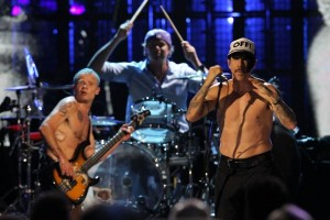 Red Hot Chili Peppers Performs After Induction