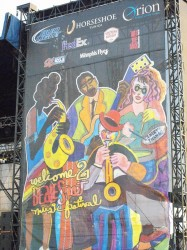 Memphis In May Beale Street Music Festival Welcome Banner