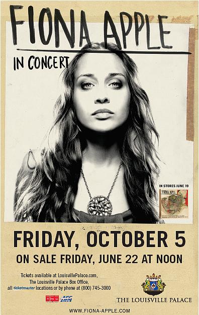 Fiona Apple in Concert - Louisville, KY