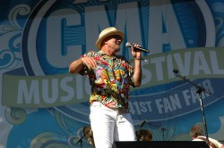 Mark Miller of Sawyer Brown In Concert - CMA Music Festival