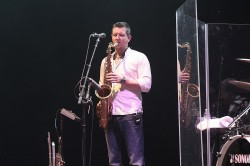 Paul Booth of Steve Winwood's Band In Concert - Nashville, TN
