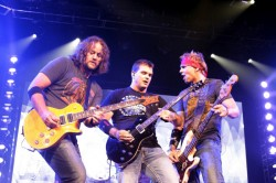 Chet Roberts, Chris Henderson and Todd Harrelll of 3 Doors Down In Concert - Nashville, TN