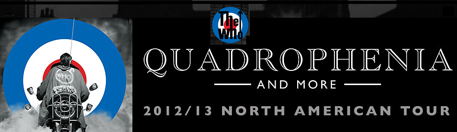 The Who North American Tour 2012-2013