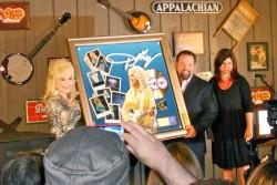 Dolly Parton Receives Gold Record