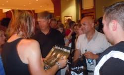 Matt Brooks Signing Autographs After Their Show