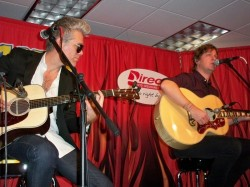 Kyle Cook and Rob Thomas of Matchbox Twenty