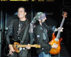 Grand Funk Railroad In Concert - Max Carl and Bruce Kulick